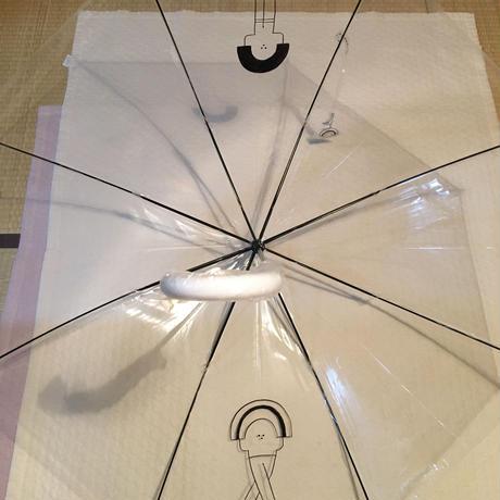 tomokochin 手描きビニール傘