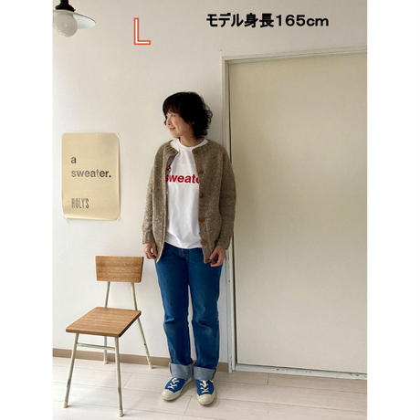 a sweater Tシャツ / 働くセーター × LETTERPRESS a lot × モリカゲシャツ