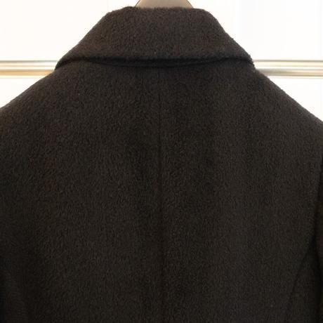 483-1705|シャギー素材のチェスターコート