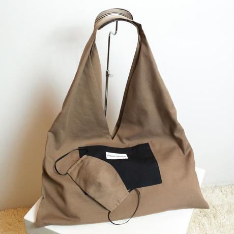 493-5807|マスクとセットのあずま袋風トートバッグ