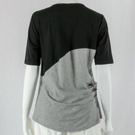 471-2106 カーブ切り替え 配色 Tシャツ