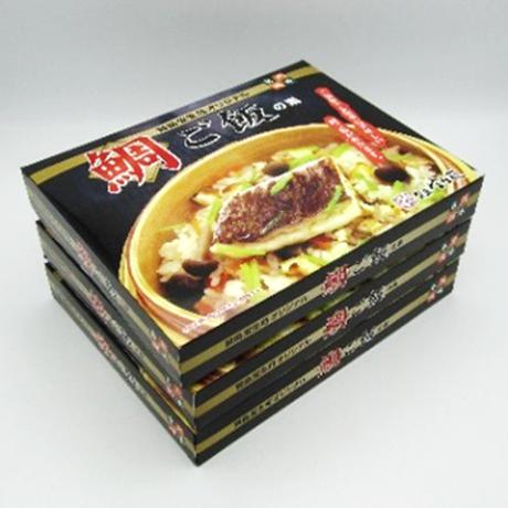 賢島宝生苑オリジナル「鯛ご飯の素」(米3合分/1箱)×3箱セット