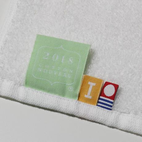 【2,500円→1,000円】STARFLYER×IKEUCHI ORGANIC コットンヌーボー フェイスタオル (グレー/ホワイト)