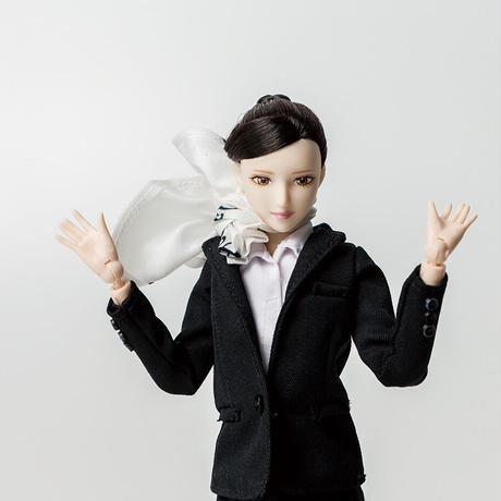 STARFLYER×OBITSU PLASTIC MANUFACTURING STARFLYER CABIN ATTENDANT DOLL  スターフライヤー キャビンアテンダント人形