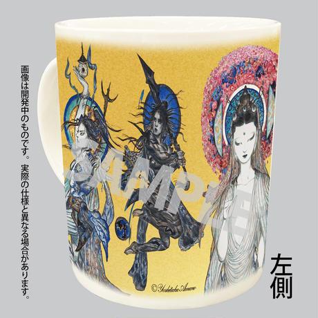 「法華経画」マグカップ(A柄)