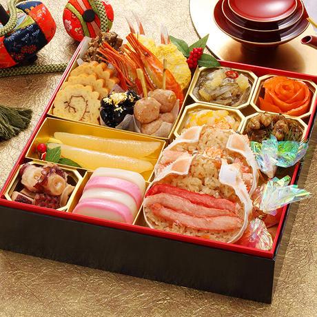 【早割あり】カネシメ食品 通販 「北海道おせち 北の彩膳」《送料無料》(※沖縄、離島を除く)