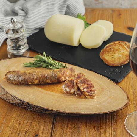 【お酒に合う!】ファットリアビオ  通販「カリとろ!濃厚チーズとピリ辛サラミのセット」