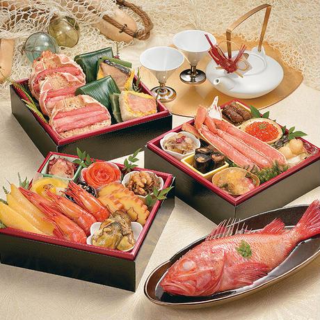 【早割あり】カネシメ食品 通販 「北海道おせち 北の漁師膳」《送料無料》(※沖縄、離島除く)