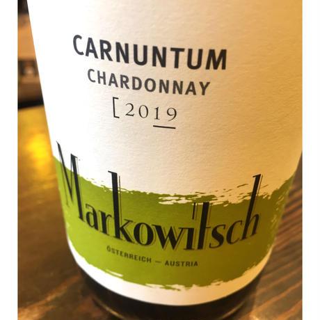 Chardonnay 2019  / 白 /マルコヴィッチ / オーストリア・ニーダーエスタライヒ / SO2 89mg/l