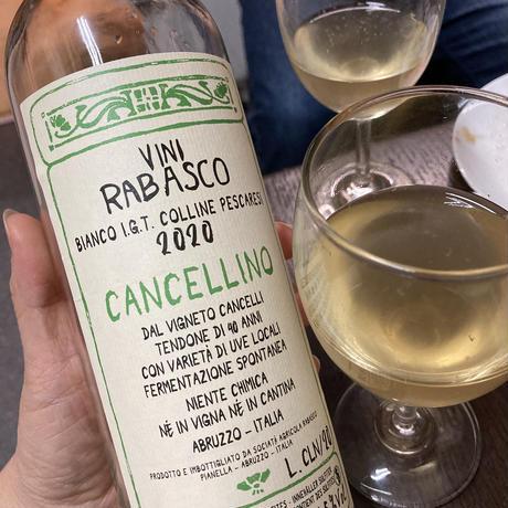 ビアンコ カンチェリーノ 20 / 白 / イオーナ・ラバスコ / イタリア・アブルッツォ / SO2 無添加