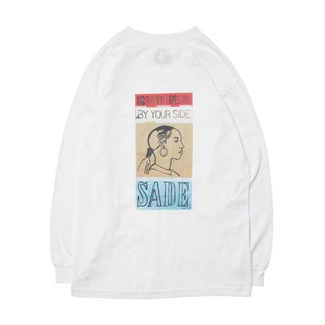 SADE LONG SLEEVE TEE / WHITE