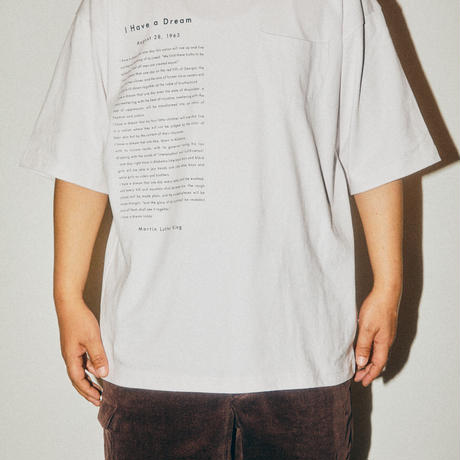 I HAVE PKT TEE / WHITE