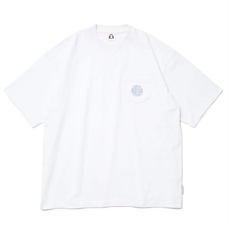 CIRCLE PKT TEE / WHITE