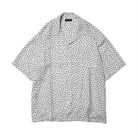 DISC DOT SHIRTS / WHITE