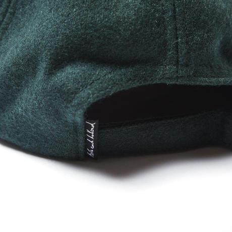 PSYCHEDELIC WOOL CAP / GREEN
