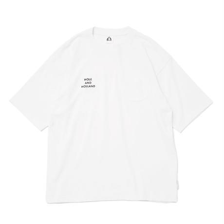 BAR PKT TEE / WHITE
