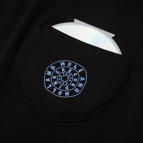 CIRCLE PKT TEE / BLACK