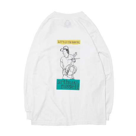 ARTHUR RUSSEL LONG SLEEVE TEE / WHITE
