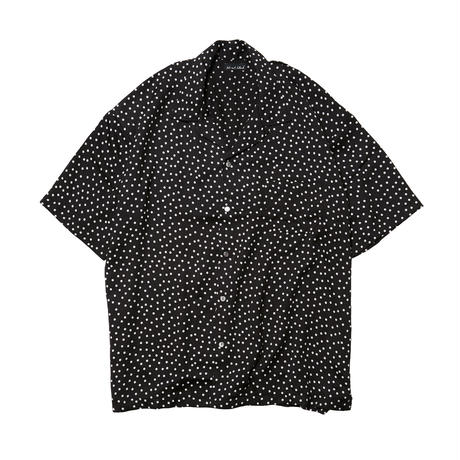 DISC DOT SHIRTS / BLACK