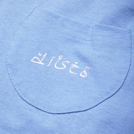 DISCO LONG SLEEVE TEE / BLUE