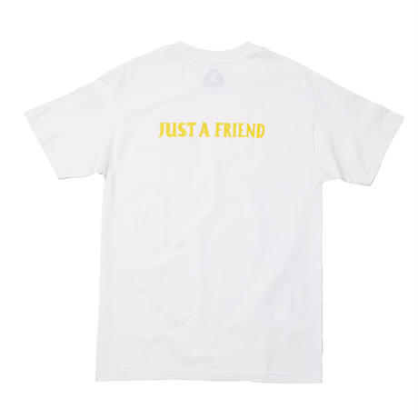 JUST A FRIEND TEE / WHITE