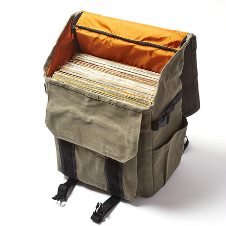 RECORD BAGPACK  (OLIVE)
