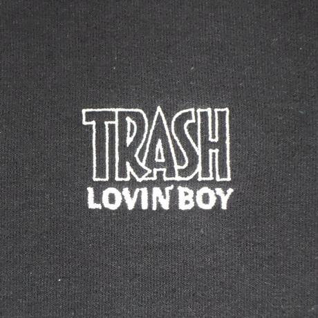 "TRASH LOVIN' BOY SWEAT SHIRTS ""BLACK"""