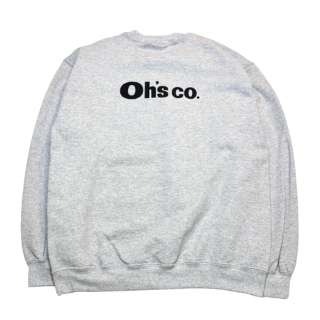 Oh's Staff Sweat shirts GRAY