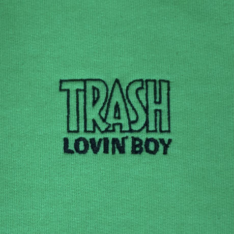 "TRASH LOVIN' BOY SWEAT SHIRTS ""GREEN"""