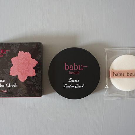 babu-beaute バブーボーテ エッセンスパウダーチーク フレンチローズ