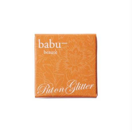 babu-beaute バブーボーテ  プットオングリッター シャンパンオレンジ