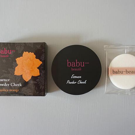 babu-beaute バブーボーテ エッセンスパウダーチーク マジョリカオレンジ