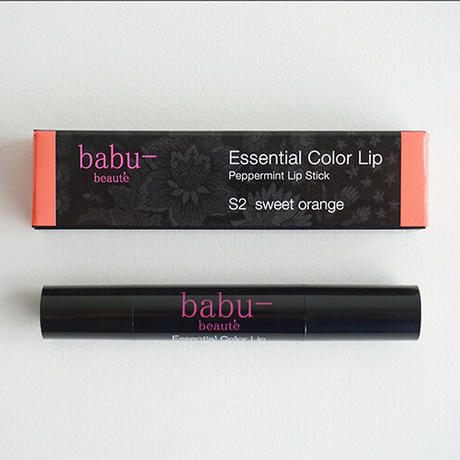 babu-beaute バブーボーテ エッセンシャルカラーリップ スイートオレンジ