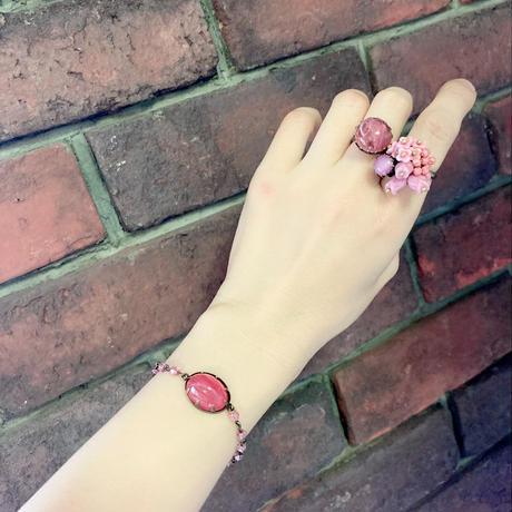 〖RING〗ピンクチューリップリング