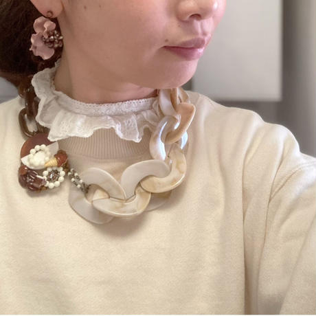 〖NECKLACE〗チョコレートアイスクリームのネックレス