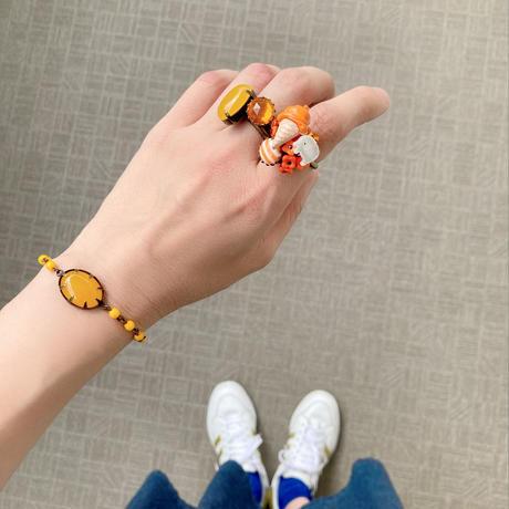 〖RING〗オレンジアイスを食べるちびぞうリング