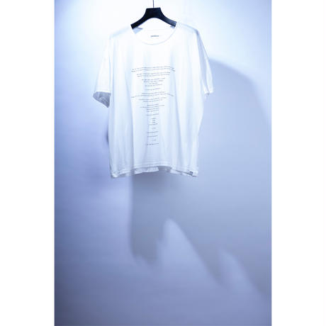 月魄 loose fit S/S t-shirt