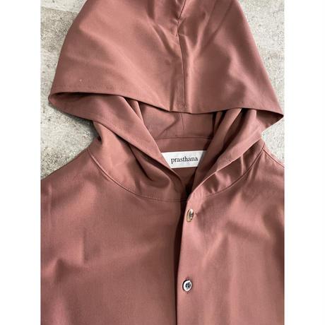 prasthana:strings hooded shirt