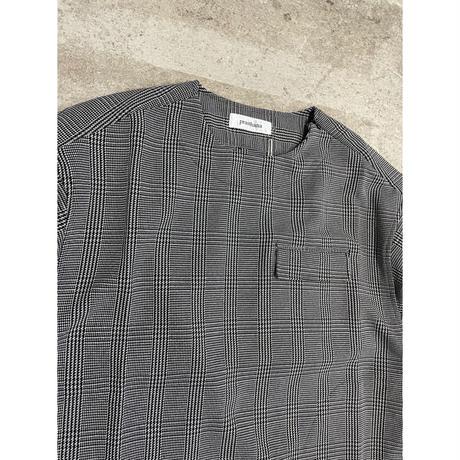 prasthana:balloon sleeve P/O shirt