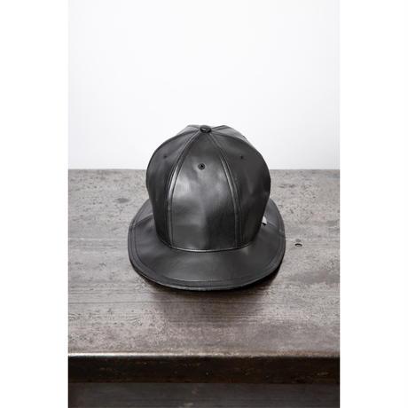 royal leather crew hat