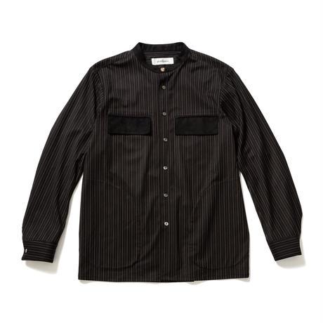 round neck stripe shirt