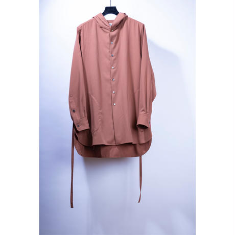 strings hooded shirt