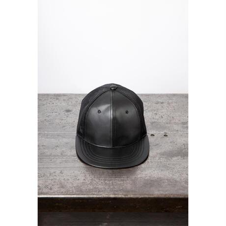 royal leather trucker cap