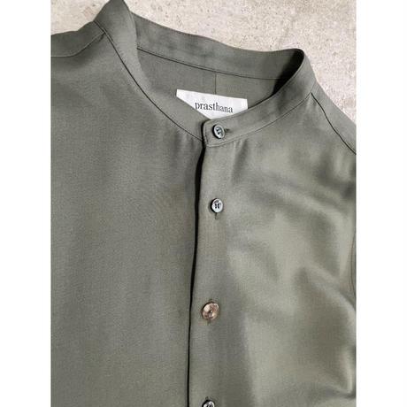 prasthana:strings band collar shirt ver2