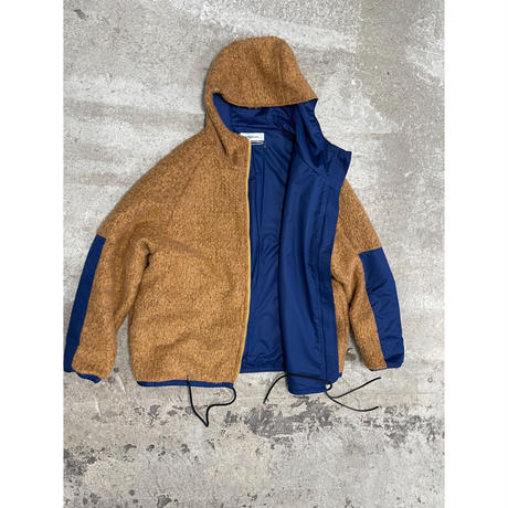 prasthana:loop yarn zip parka