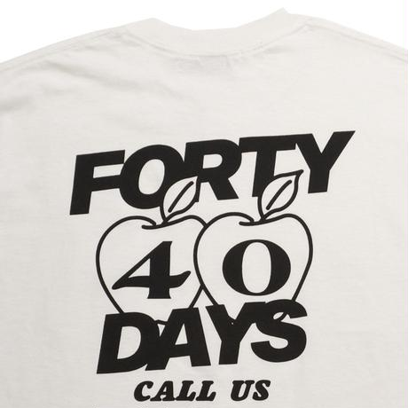 【400YEARS】40DAYS RELOCATION  S/S TEE Designed by VOYAGE
