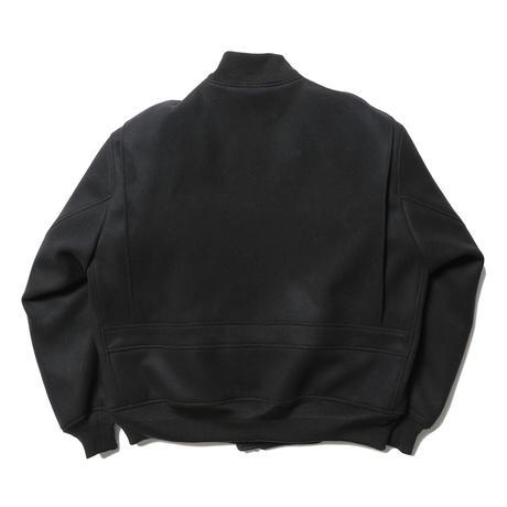 【tone】Wool melton bomber jacket