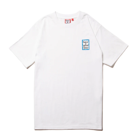 【have a good time】MINI BLUE FRAME S/S TEE