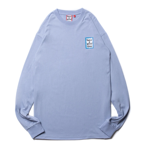 【have a good time】MINI BLUE FRAME L/S TEE