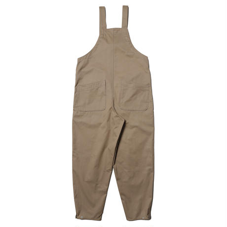 【tone】COTTON TWILL TUNKERS OVERALL